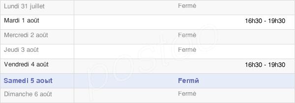 horaires d'ouverture de la Mairie De Flers Sur Noye