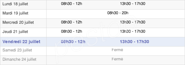 horaires d'ouverture de la Mairie De Gournay-Sur-Marne