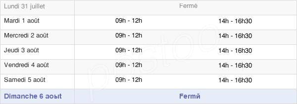 horaires d'ouverture de la Mairie De Pleucadeuc