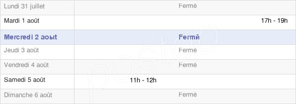horaires d'ouverture de la Mairie De Lignières-En-Vimeu