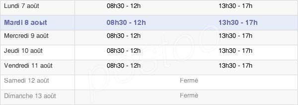 horaires d'ouverture de la Mairie De Crèvecoeur-Le-Grand