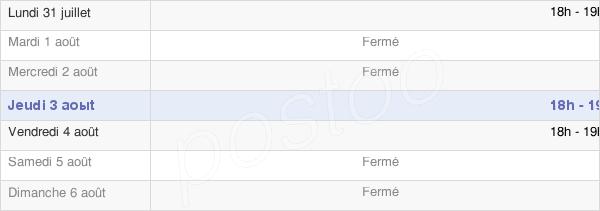 horaires d'ouverture de la Mairie De Lahoussoye