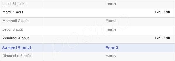 horaires d'ouverture de la Mairie De Flavy-Le-Meldeux