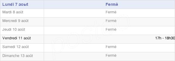 horaires d'ouverture de la Mairie Du Mesnil-Saint-Firmin