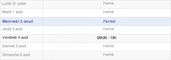 horaires d'ouverture de la Mairie D'Ansauvillers