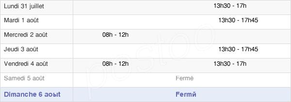 horaires d'ouverture de la Mairie De Tracy-Le-Val