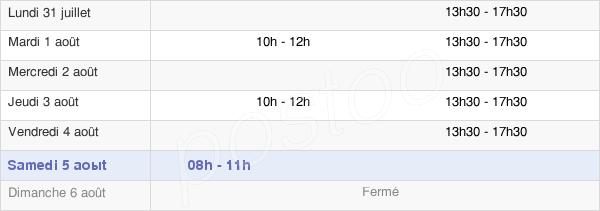 horaires d'ouverture de la Mairie De Cambronne-Lès-Ribécourt