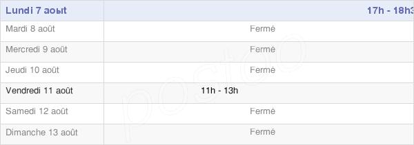 horaires d'ouverture de la Mairie De Cerisy-Buleux