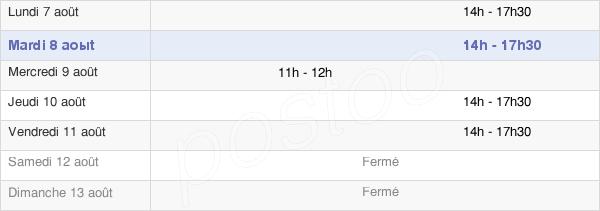 horaires d'ouverture de la Mairie D'Esmery-Hallon
