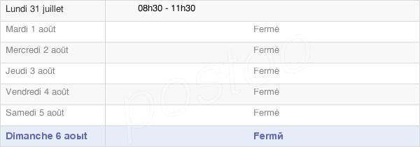 horaires d'ouverture de la Mairie De Cressy Omencourt