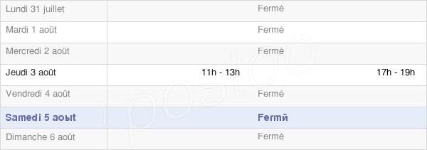 horaires d'ouverture de la Mairie De Presles