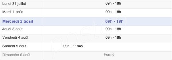 horaires d'ouverture de la Mairie D'Hérouville-Saint-Clair