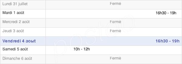 horaires d'ouverture de la Mairie Du Fresne-Camilly