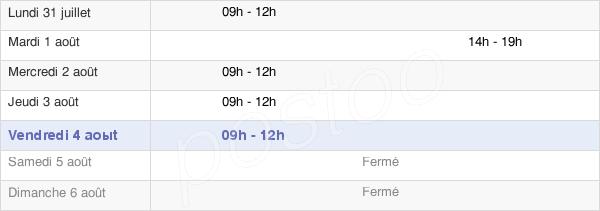 horaires d'ouverture de la Mairie De Fontaine-Étoupefour