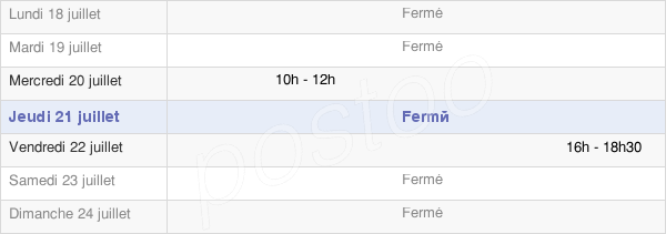 horaires d'ouverture de la Mairie Des Moutiers-En-Cinglais