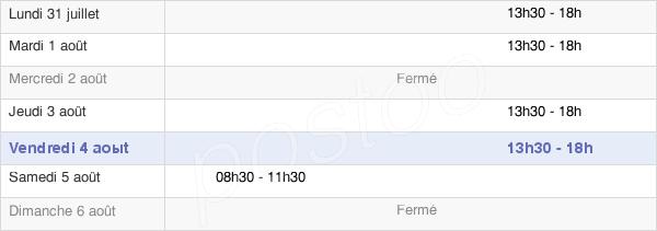 horaires d'ouverture de la Mairie De Mareuil-Caubert