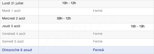 horaires d'ouverture de la Mairie D'Amayé-Sur-Orne