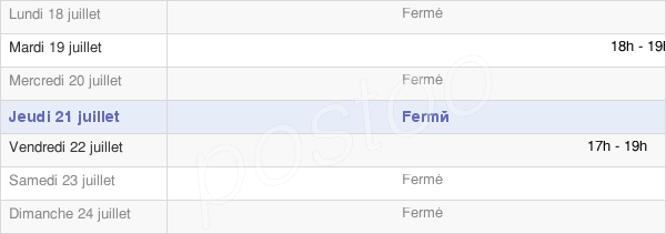 horaires d'ouverture de la Mairie D'Avenay