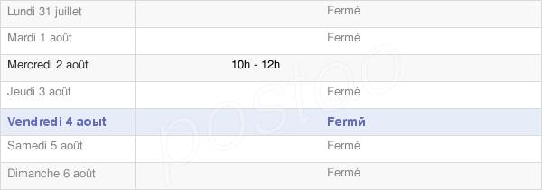 horaires d'ouverture de la Mairie D'Etréham