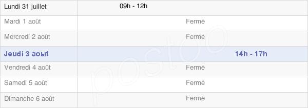 horaires d'ouverture de la Mairie De Frohen-Sur-Authie