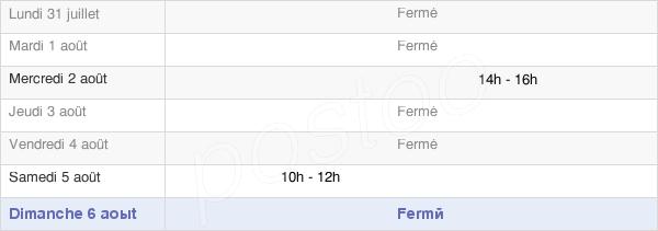 horaires d'ouverture de la Mairie De Sainte-Marie-Laumont