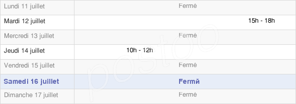 horaires d'ouverture de la Mairie De Petiville