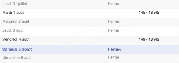 horaires d'ouverture de la Mairie D'Estrées-Sur-Noye