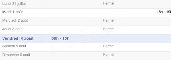 horaires d'ouverture de la Mairie De Fricamps