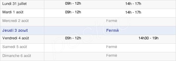 horaires d'ouverture de la Mairie De Vers-Sur-Selle