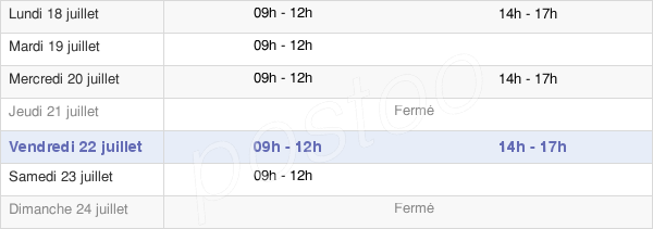 horaires d'ouverture de la Mairie D'Arthon