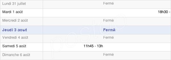 horaires d'ouverture de la Mairie De Bethencourt Sur Somme