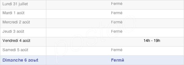 horaires d'ouverture de la Mairie D'Acheux-En-Vimeu