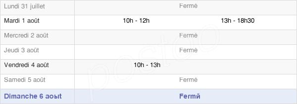 horaires d'ouverture de la Mairie D'Épineux-Le-Seguin