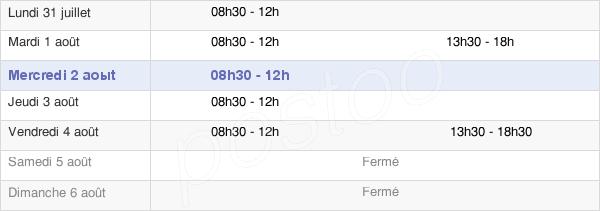 horaires d'ouverture de la Mairie De Maisoncelles-Du-Maine