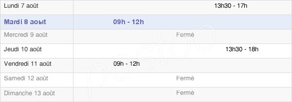 horaires d'ouverture de la Mairie D'Assé-Le-Bérenger