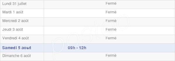 horaires d'ouverture de la Mairie De Fontenay-Saint-Père