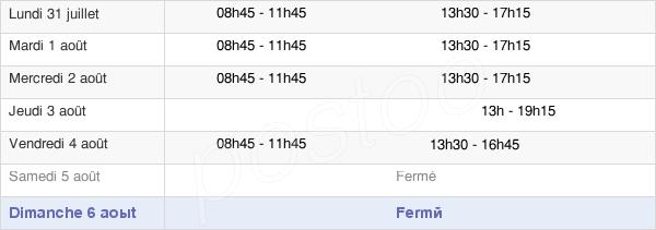 horaires d'ouverture de la Mairie Du Mesnil-Saint-Denis