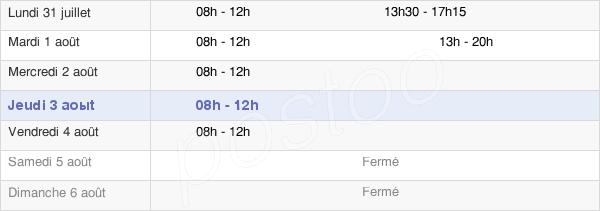 horaires d'ouverture de la Mairie De Sartrouville