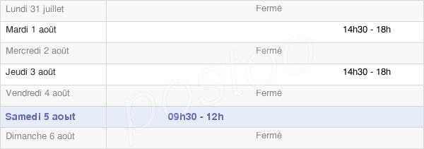 horaires d'ouverture de la Mairie De Grosrouvre