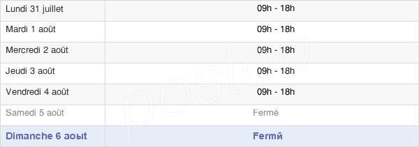 horaires d'ouverture de la Mairie De Monchecourt