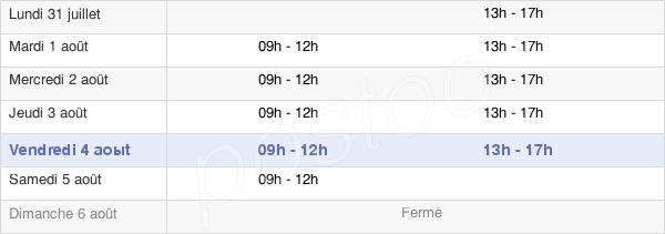 horaires d'ouverture de la Mairie De Forest-En-Cambrésis