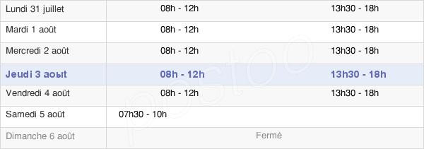 horaires d'ouverture de la Mairie D'Halluin