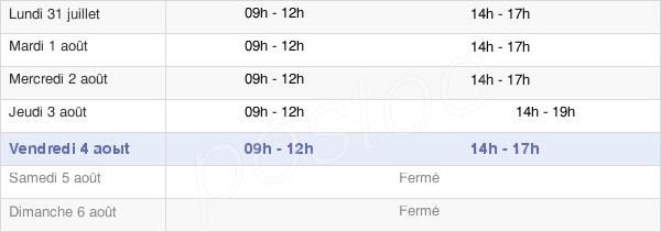 horaires d'ouverture de la Mairie De Bierne