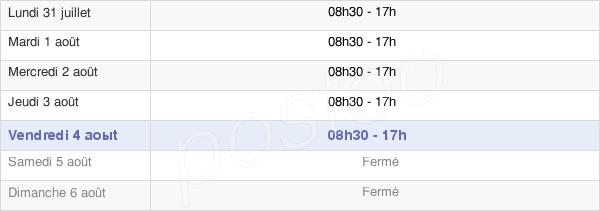 horaires d'ouverture de la Mairie D'Haubourdin