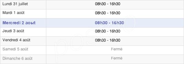 horaires d'ouverture de la Mairie D'Ors