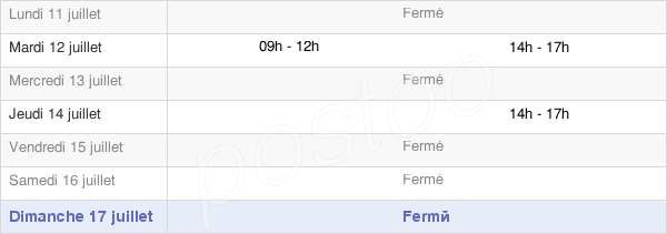 horaires d'ouverture de la Mairie D'Arbigny