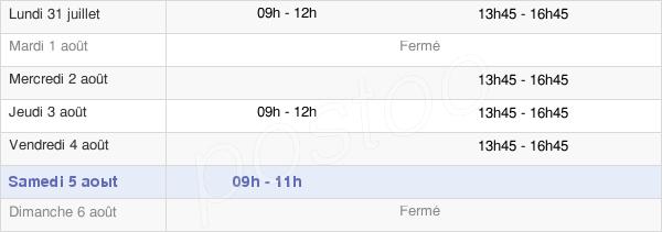 horaires d'ouverture de la Mairie D'Entremont-Le-Vieux