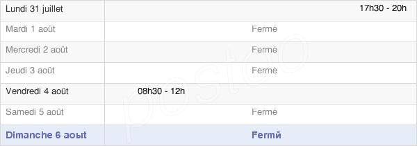 horaires d'ouverture de la Mairie De Thimonville