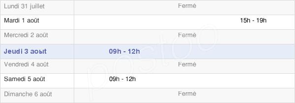 horaires d'ouverture de la Mairie De Saint-Juste-Ibarre