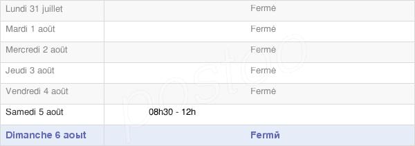 horaires d'ouverture de la Mairie De Crolles